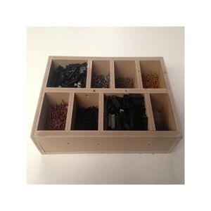 kit cloture pvc achat vente pas cher. Black Bedroom Furniture Sets. Home Design Ideas