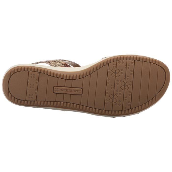 Naturalizer Sandale plate en stratifié selma féminin L8AQE