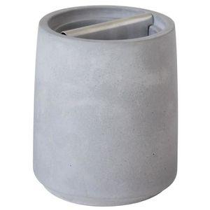 GELCO Gobelet Porte-brosses ? dents Helsy en ciment gris