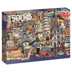JUMBO Puzzle 1500 - Best of? Villes européennes
