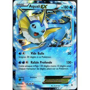 CARTE A COLLECTIONNER carte Pokémon 24-83 Aquali-EX 180 PV - ULTRA RARE