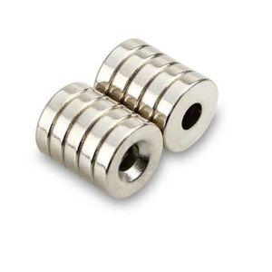 AIMANTS - MAGNETS 10 Aimant SUPER PUISSANT TROU Neodyme 8x3mm