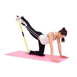 ELASTIQUE DE RÉSISTANCE 10 pcs Elastique musculation épaules jambes fesses