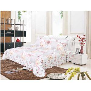 couvre lit toile de jouy achat vente pas cher. Black Bedroom Furniture Sets. Home Design Ideas