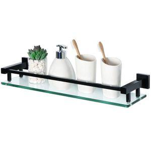 Etagere salle de bain verre - Achat / Vente pas cher