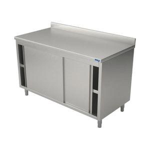 armoire de chambre meuble de rangement en inox idal professionnels