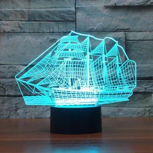 Achat Cher Pas Bateau Lampe 3d Vente JTlKc31F