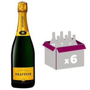 CHAMPAGNE Drappier cuvée Carte d'Or Brut - carton 6 bouteill