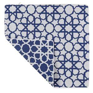 HOUSSE DE COUSSIN Housse de coussin MEDINA - Couleur - Bleu, Taille