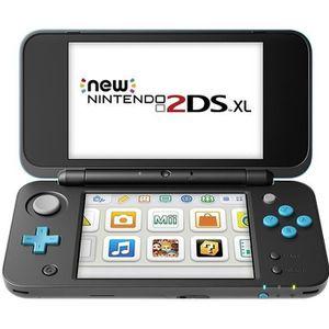 CONSOLE NEW 2DS XL Console Nintendo 2DS XL Noir + Turquoise