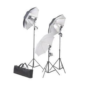 LAMPE ESCLAVE - FLASH Ensemble d'éclairage de studio: Trépieds et parapl