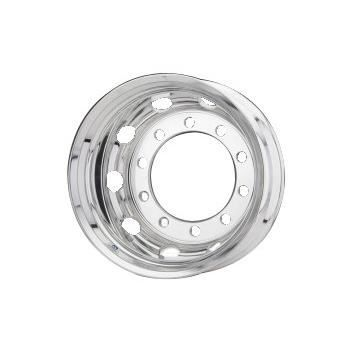 Roue ALCOA en aluminium forgé pour Poids Lourd - 22.5x11.75 déport 0 mm - Perçage 32 mm - Capacité 5.000 kg - Finition LvL-One