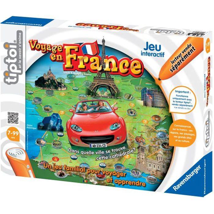 TIPTOI Livre Interactif Voyage en France