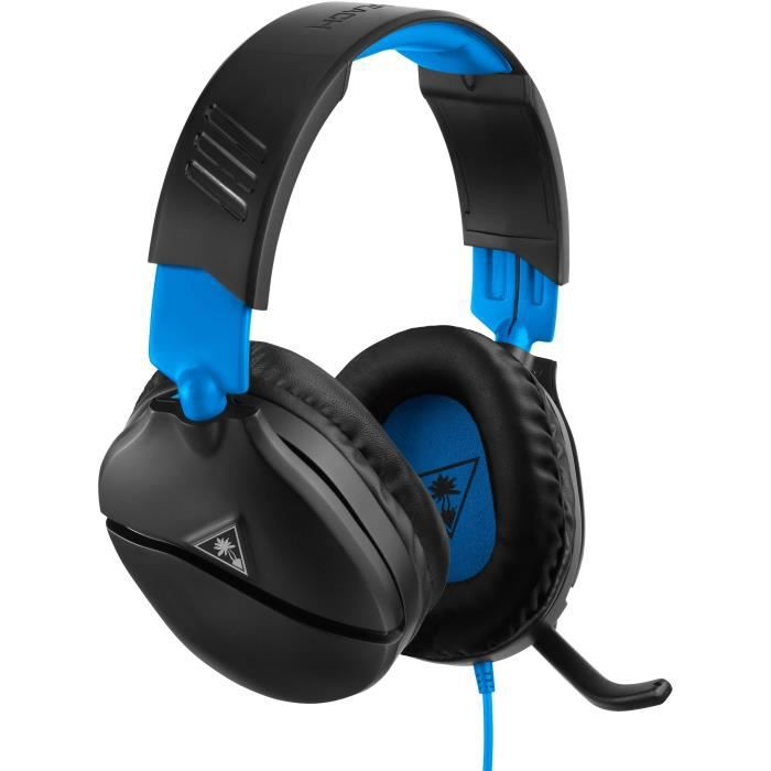 TURTLE BEACH Casque gamer Recon 70P pour PS4 et PS4 Pro (compatible Xbox one, Nintendo Switch, Appareils mobiles) - TBS-3555-02
