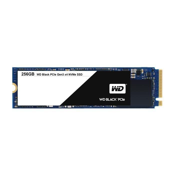 WESTERN DIGITAL BLACK SSD WDS256G1X0C - 256 Go Noir