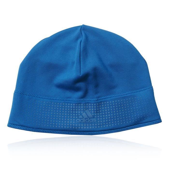 5a89fdc0231 Adidas Climaheat Bonnet Léger Sport Running Unisèxe Bleu Bleu ...