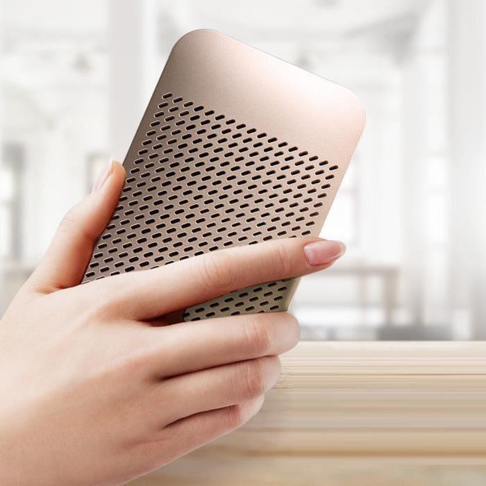 Mx7-b Extérieur Sans Fil Haut-parleur Portable Bluetooth Ultra-mince Mini De Poche Lzy90318003gd