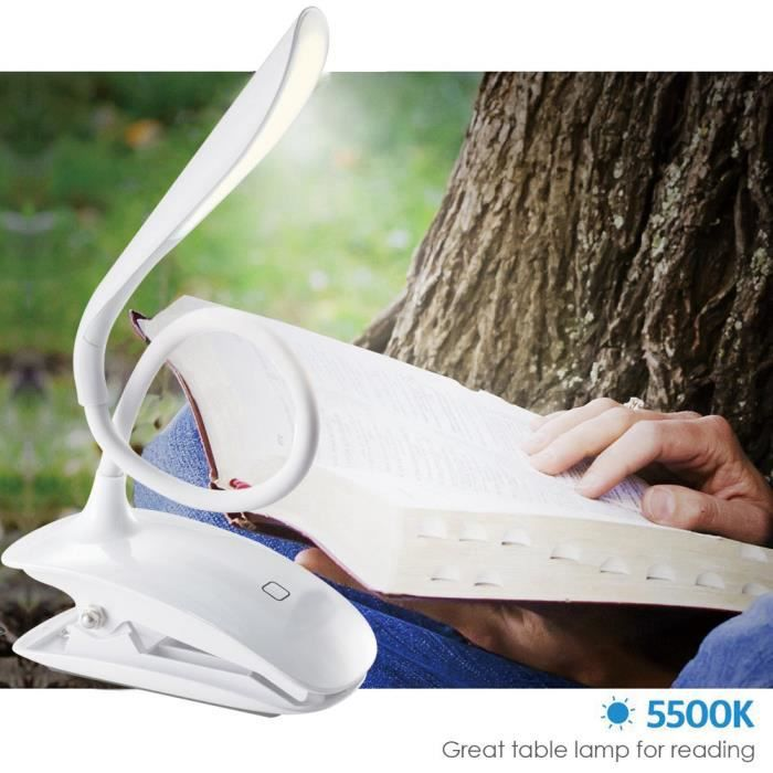 LAMPE A POSER Livre lumière lampe de lecture Bureau flexible lam