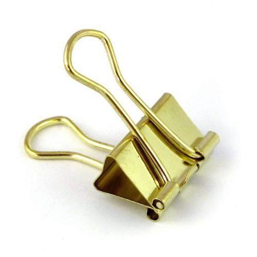 22f94b8d4d489 6 pinces à clip dorées pour accrocher vos petits mots du quotidien, fixer  vos accessoires de bureau ou encore tous vos croquis de