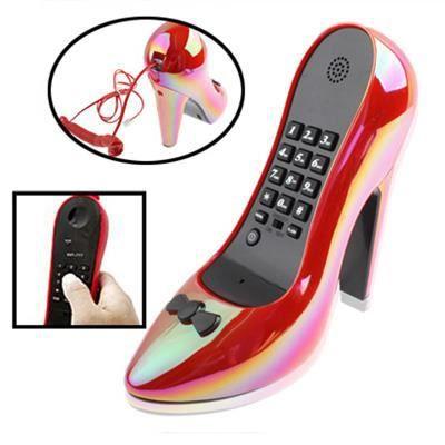 Téléphone Chaussure Modèle À TalonrougeAchat Filaire v8nwOmN0y