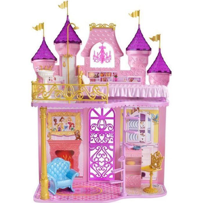 Maison Poupee Disney Princesses Le Chateau Royal