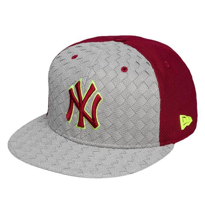 New Era Homme Casquettes   Snapback Woven Front Visor New York ... a104f07c79c0