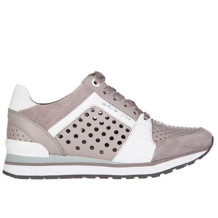 Chaussures baskets sneakers femme en cuir billie Michael Kors vsa8ROTwK