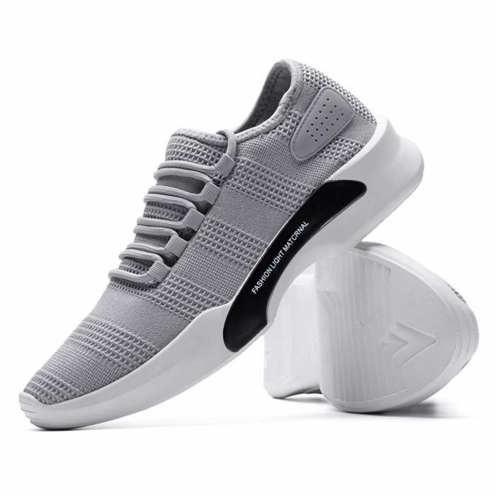 Nouvelle Chaussures Couleur baskets Grande Plus De Luxe Marque qualité basket Mode Taille Homme Haut Antidérapant De PqwOaw0f