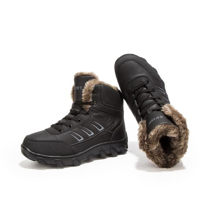 Plus Coton De Cachemire Hiver Champ Bottine Chaud Hiver jyx415 Garde Au Neige De Nouvelle Bottes Mode Antidérapant Chaussure Homme 6dPqwqH