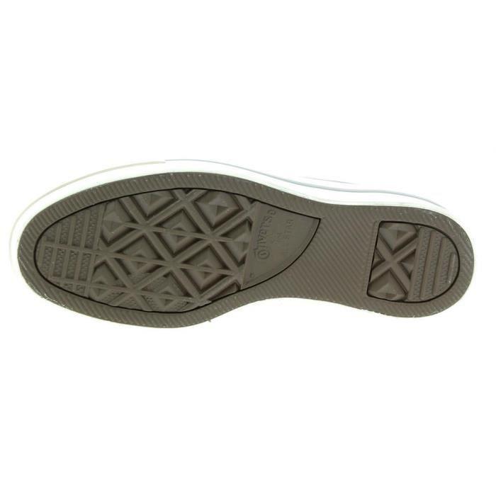 Converse - Converse Ctas Platform Ox Chaussures de Sport Noir qoMGeRCr