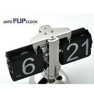 HORLOGE - PENDULE Accueil bureau numérique Auto Flip Down Horloge -