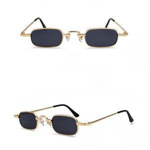 9cb05fd15e LUNETTES DE SOLEIL Rétro Petites lunettes de soleil rectangulaires po