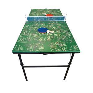 TABLE TENNIS DE TABLE Table de Ping Pong pliable et portable - Verte à m