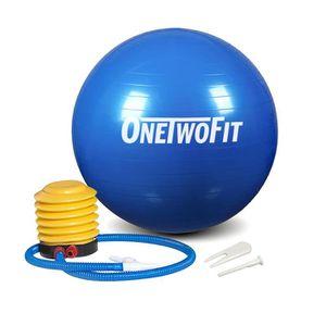 BALLON SUISSE-GYM BALL OneTwoFit 85cm Ballon de Gym  Anti-éclatement  Bal