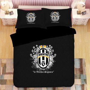 HOUSSE DE COUETTE ET TAIES Juventus F.C. Parure de lit 3 pièces de Marque fan