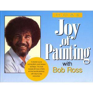 LIVRES BEAUX-ARTS Plus de livre joie de peindre avec Bob Ross