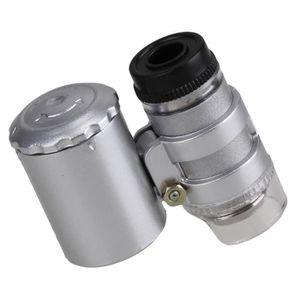 MICROSCOPE OPTIQUE portable 60x Grossissement del Poche microscope