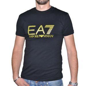 T-SHIRT TEE SHIRT EA7 MANCHES COURTES