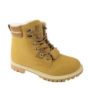 Chaussures fourrées boots femme chaussure de chasse pour femme chaussures de marque Automne et hiver Garder au dssx012noir36 YP0HHP