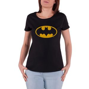 T-SHIRT Batman T Shirt DC Comics Batgirl Emblem officiel F