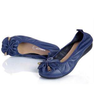 CHAUSSURES DE RANDONNÉE Pum Chaussure femmes Cuir nouvelle Moccasin Respir