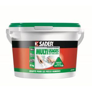 SOUS-COUCHE - ENDUIT SADER Seau Pâte Enduit Multi-usages - 4kg