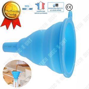 ENTONNOIR TD® Entonnoir cuisine plastique pliable durable et