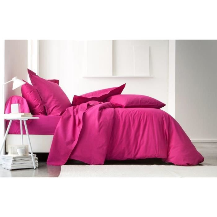 today housse de couette 100 coton 240x260 cm jus de myrtille achat vente housse de couette. Black Bedroom Furniture Sets. Home Design Ideas