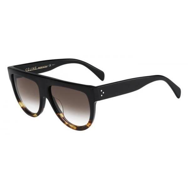 CELINE Lunettes de soleil Femme CL 41026 S FU5 - Noir - Achat ... 4a126bb78bff