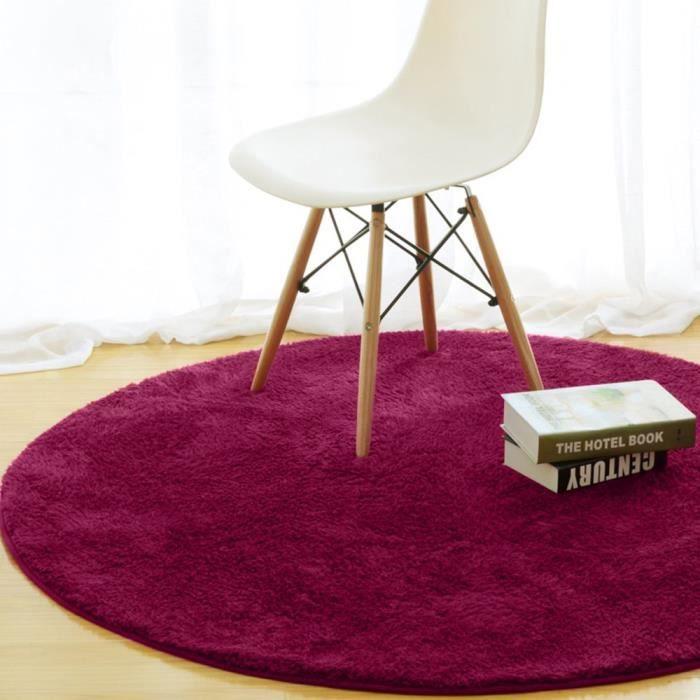 Tapis Salon Carpet Tapis Chambre Rond Tapis Shaggy Yoga