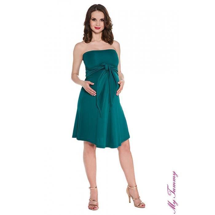 Extraordinaire robe cocktail pas cher femme enceinte MS-97