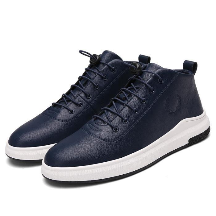 Skateshoes Homme Hiver - automne l'exécution Sneaker antidérapante hommes bleu taille44