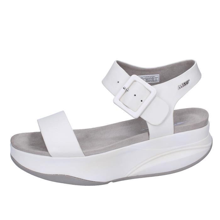 Mbt Cuir Sandale Femme Bx884 Chaussures Achat Tchdbrxqs Blanc mn8w0N
