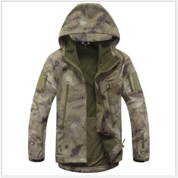 Homme Chasse Polaire Softshell Esdy Tactique Imperméable Veste BdqWUwP